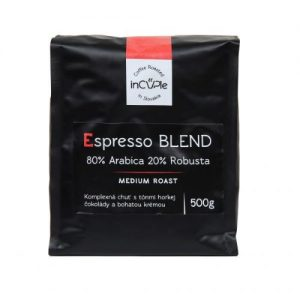 espresso zmes - arabica - robusta - kava