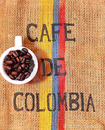 káva kolumbia