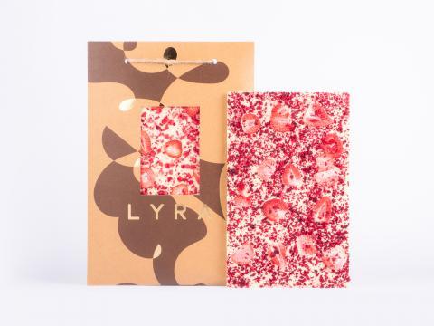 lyra - white - s posypom